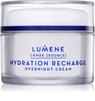 Lumene Lähde [Source of Hydratation] хидратиращ нощен крем